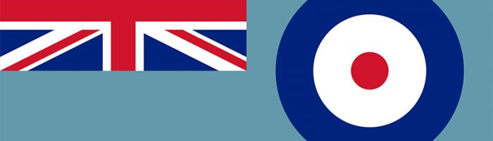 royal, air, force, blue, raf, national, ensign, flag, printed, sewn, different sizes, military,