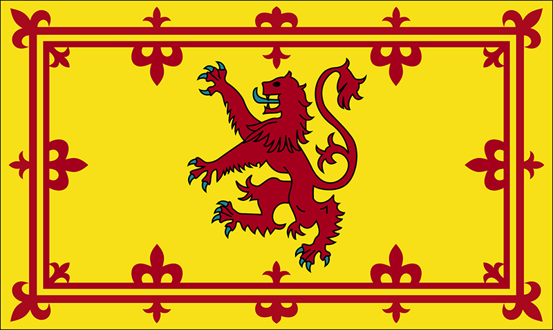 Scottish, Lion, Flag, printed, pride, yellow, red, pride, heritage