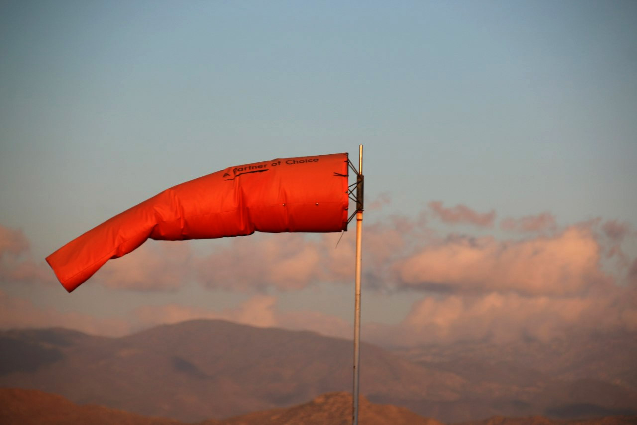 windsock, hypalon, pvc, safety, oil, gas, aviation,