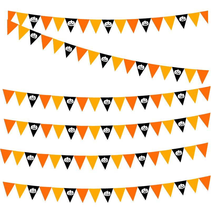 bunting, printed, different sizes, bespoke, design, advertising, brand, fate, event,, celebration, Halloween
