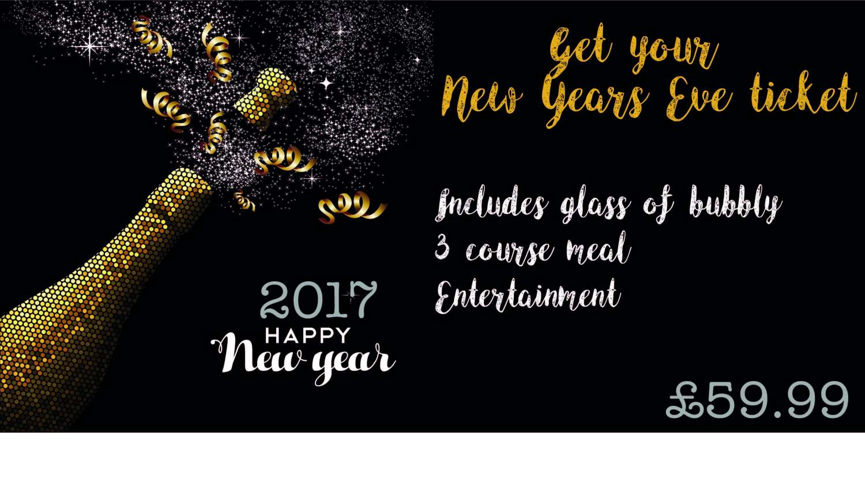 1964570c869 Banner - Bespoke New Years Eve or Celebration - Buy Online ...