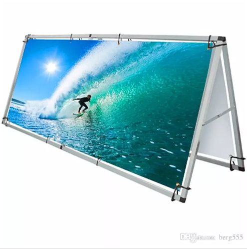 a frame, banner, advertising, outdoor, displays