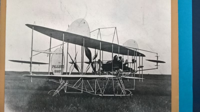 Airplane manufactured by Piggotts Bros