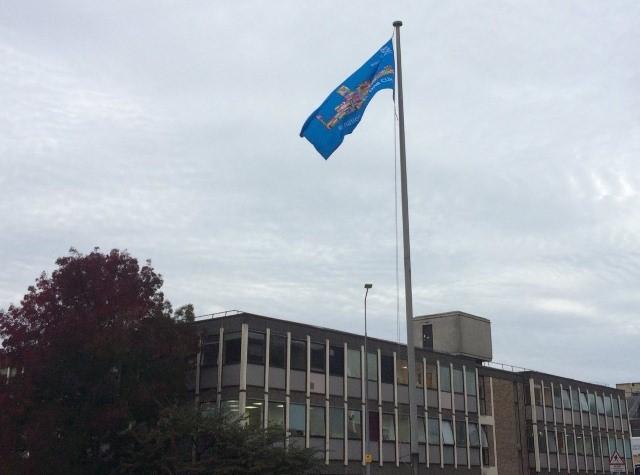 flags,hospital,sewn,nhs,piggotts,help
