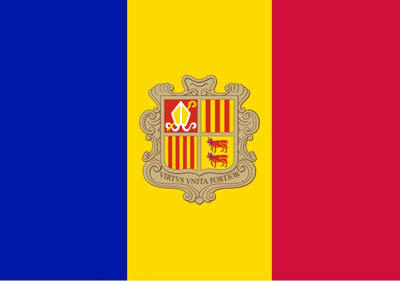Andorra national, flag, sewn, national, flag, cheap, online