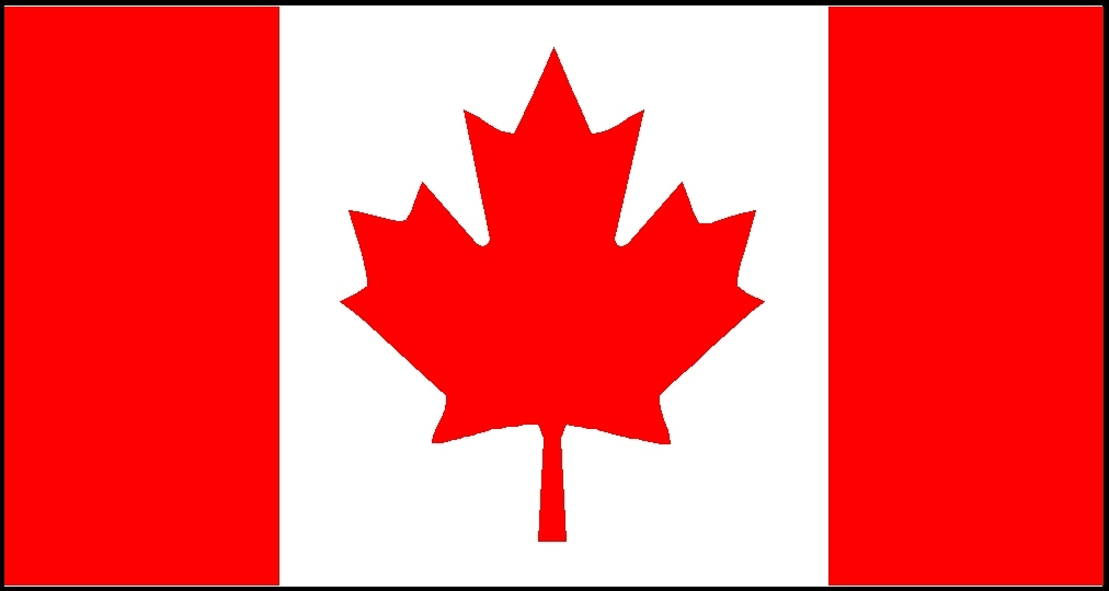 Canada, National, Flag, Sewn