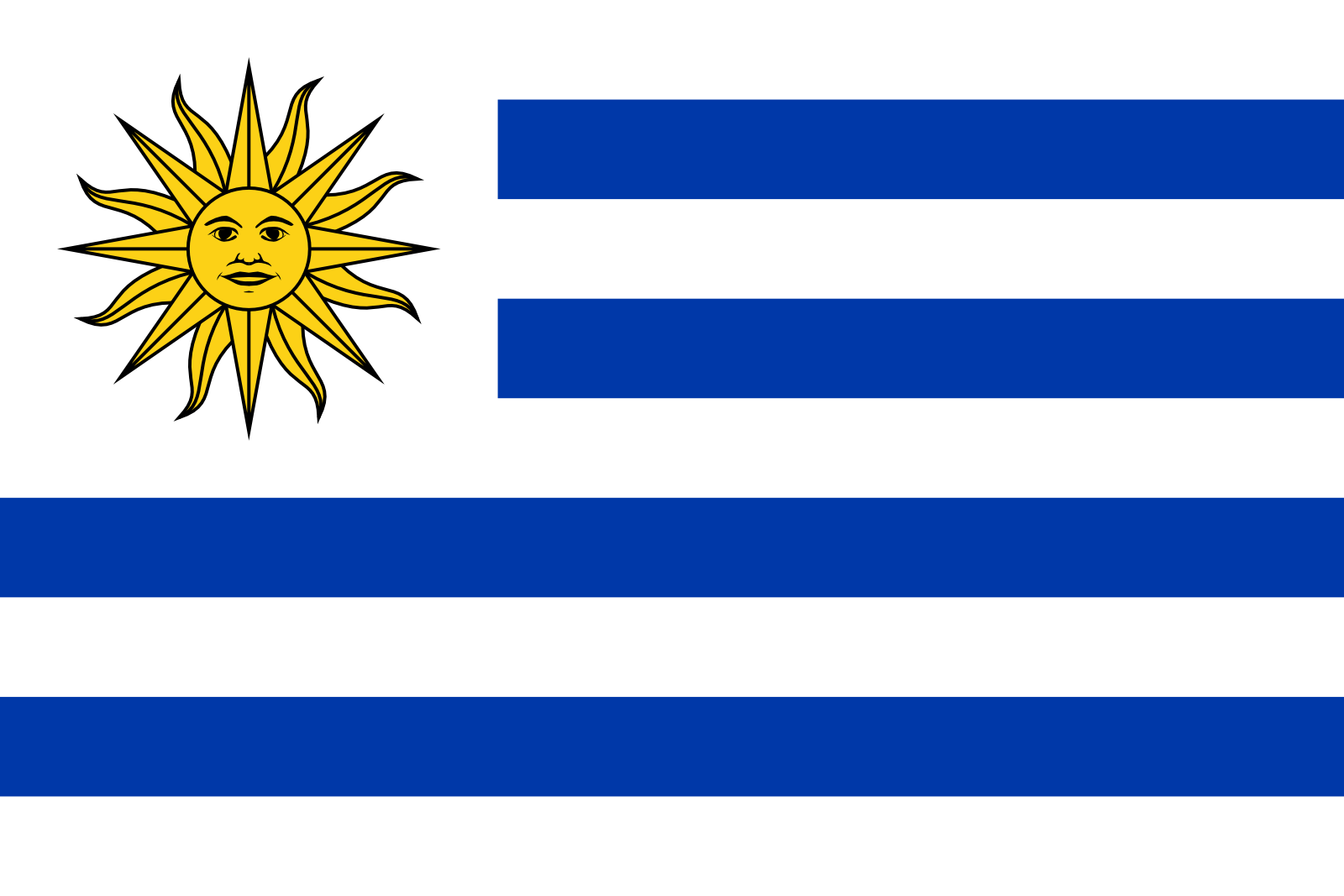 Uruguay national, flag, sewn, national, flag, cheap, online