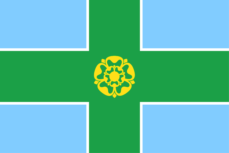 Derbyshire County flag, printed, flag, county, event, cheap, online