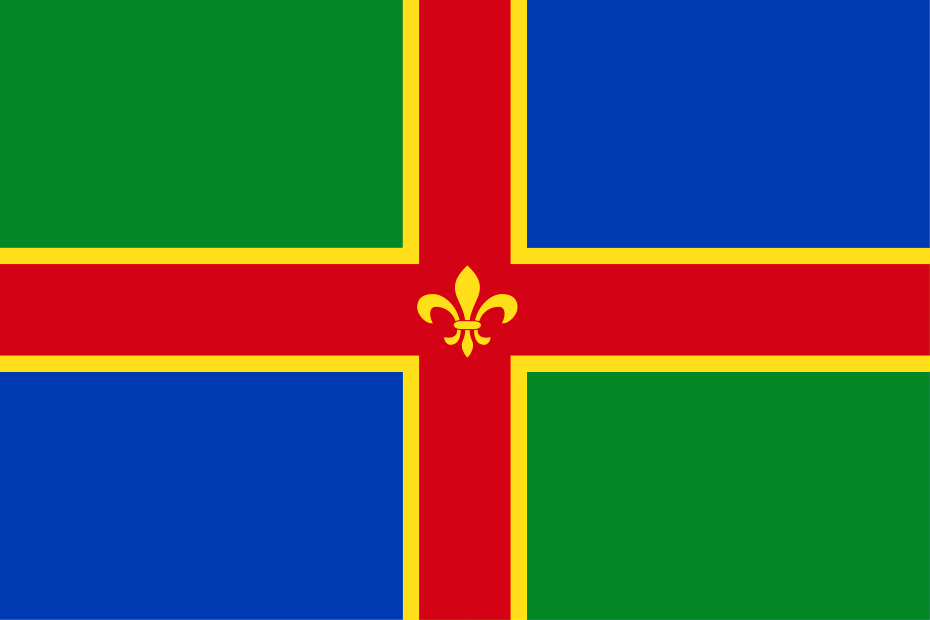 Lincolnshire County flag, printed, flag, county, event, cheap, online