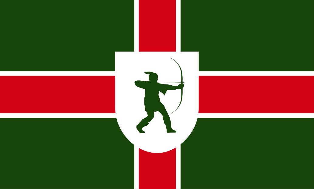 Nottinghamshire County flag, printed, flag, county, event, cheap, online