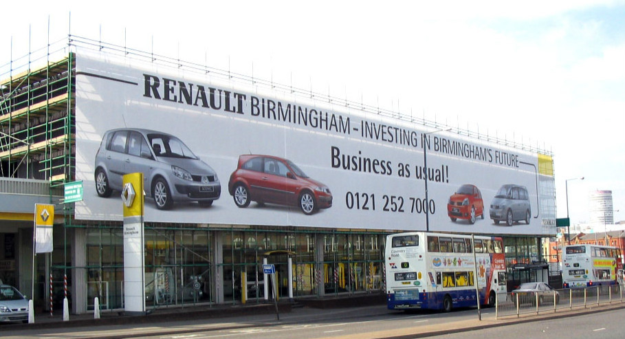 Building wraps, Scaffold banners, Advertising banners, Piggots Essex